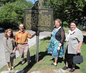Lillian South dedication 800.JPG